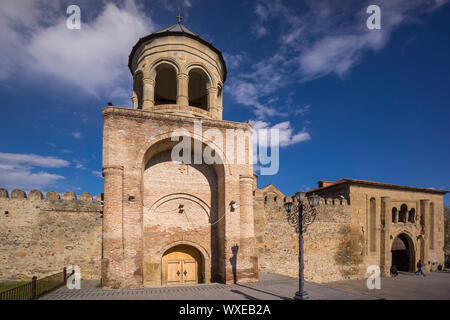Swetizchoweli cathedral entrance to inner yard - Stock Photo