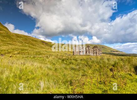 Impression of the Gleniff Horseshoe Drive in County Sligo, Ireland - Stock Photo