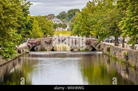 Westport Bridge over the Carrowbeg River in Ireland