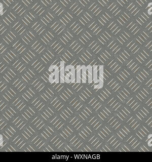 An image of a high detailed seamless metal plate - Stock Photo