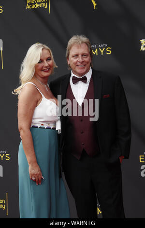 September 17, 2019, Los Angeles, CA, USA: LOS ANGELES - SEP 14:  Sig Hansen, June Hansen at the 2019 Primetime Emmy Creative Arts Awards at the Microsoft Theater on September 14, 2019 in Los Angeles, CA (Credit Image: © Kay Blake/ZUMA Wire) - Stock Photo