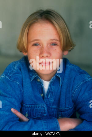 Los Angeles, California, USA 14th December 1994 (Exclusive) Actor Blake Heron poses at a photo shoot on December 14, 1994 in Los Angeles, California, USA. Photo by Barry King/Alamy Stock Photo - Stock Photo