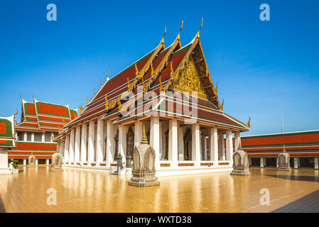 The main wihan of Wat Saket, Bangkok, Thailand - Stock Photo
