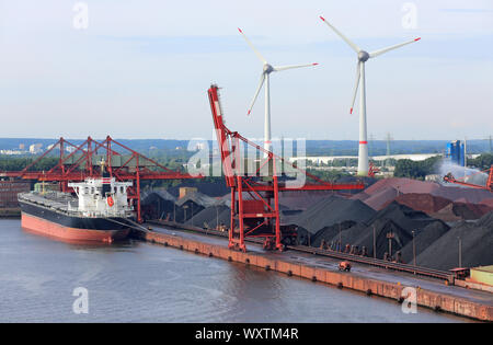 Hansaport in the port of Hamburg