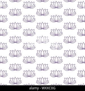 Flowers background design, floral nature plant ornament garden decoration and botany theme Vector illustration - Stock Photo