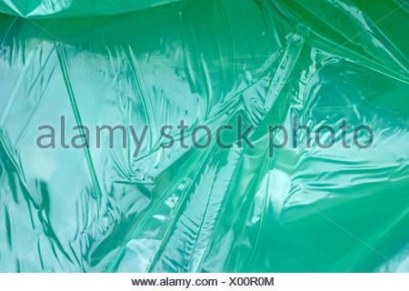Polyethylene film as background - Stock Photo