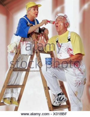 Do it yourself senior couple renovation wallpaper colour stock do it yourself senior couple renovation colour conductor stand solutioingenieria Gallery
