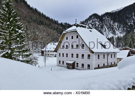 House of the meditation in Maria Kirchental - Stock Photo