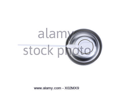 Can spray air. Top view. - Stock Photo