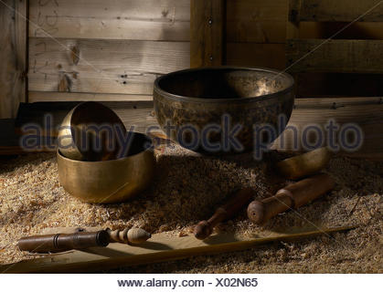 Close-Up Of Kitchen Utensils - Stock Photo