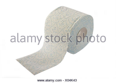 toilet paper sheet of paper paper toilet household soft toilet paper patterned Stock Photo