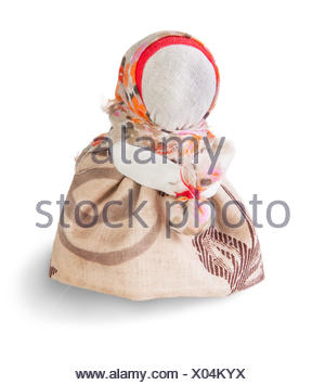 Podorozhnitsa - Russian traditional rag doll - Stock Photo