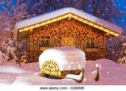 ski hat winter christmas - Stock Photo