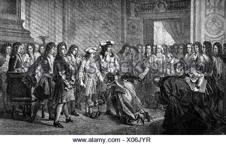 Philip V. 19.12.1683 - 9.7.1746, King of Spain 24.11.1700 -  , Artist's Copyright has not to be cleared - Stock Photo
