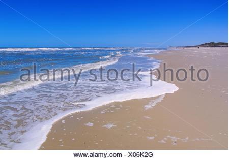 Langeoog Strand - Langeoog beach 01 - Stock Photo