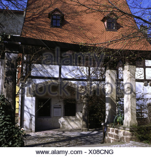 Luther, Martin, 10.11.1483 - 18.2.1546, German theologian and ecclesiastical reformer, his place of birth, Eisleben, Saxony-Anha - Stock Photo
