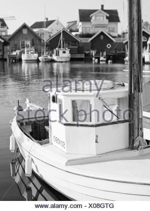 Fjallbacka harbour, Sweden. - Stock Photo