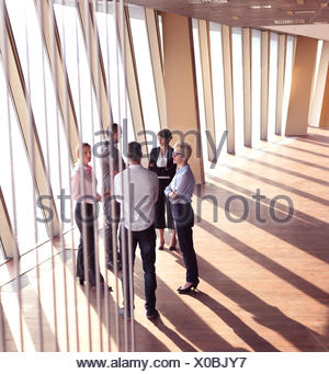 business people group standing together - Stock Photo