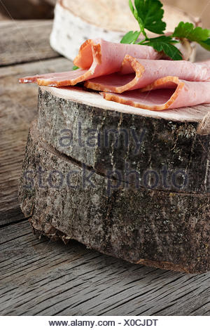 Fresh ham - Stock Photo