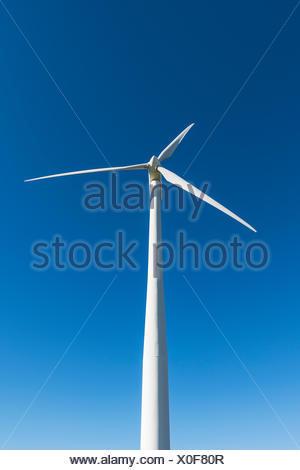 Wind turbine, Madison, New York, USA - Stock Photo