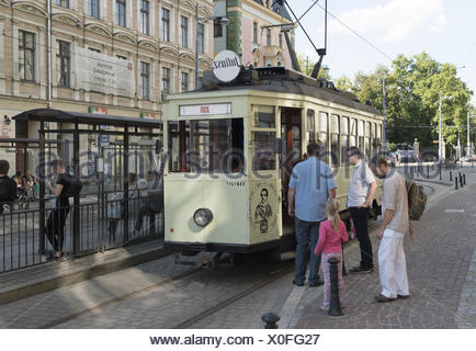 historic tramway - Stock Photo