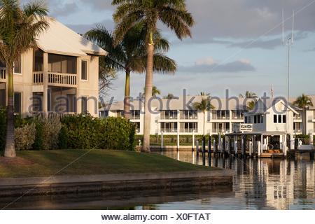 Marina at South Seas Island Resort - Stock Photo