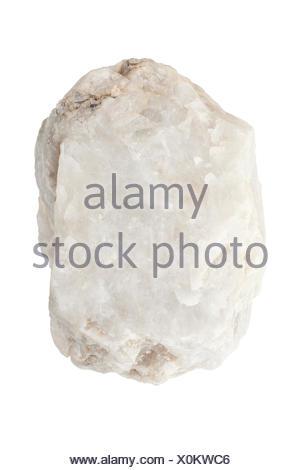 white stone - Stock Photo