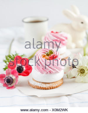 berries pastry - Stock Photo