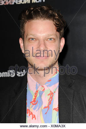 Director Todd Strauss-Schulson attends 'The Final Girls' screening during the 2015 Los Angeles Film Festival at Regal Cinemas L.A. Live on June 16, 2015 in Los Angeles, California., Additional-Rights-Clearances-NA - Stock Photo