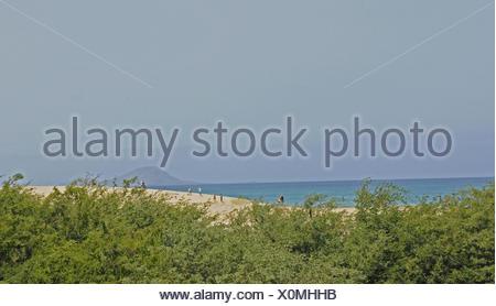 Ponta Preta brook, Santa Maria, island Sal, Cape Verde islands, cape Verde - Stock Photo