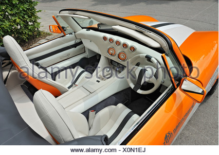 wiesmann sports car interior design dashboard munich bavaria stock photo 50925524 alamy
