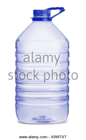 Large water bottle - Stock Photo