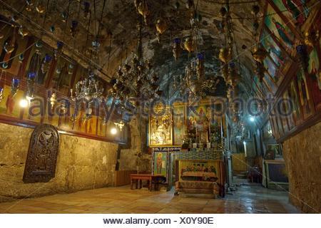 Tomb of Mary Magdalene, Jerusalem - Stock Photo