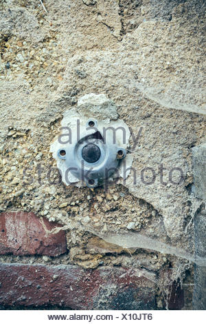 old light switch - Stock Photo