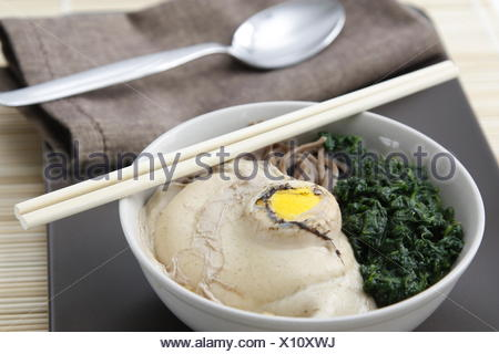 moon noodles - Stock Photo