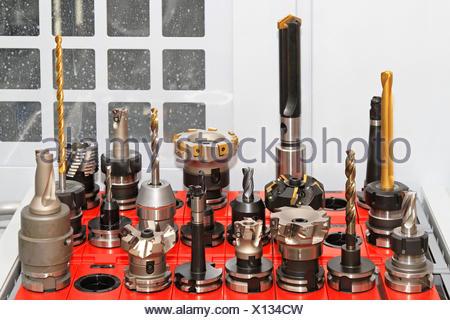CNC tools - Stock Photo