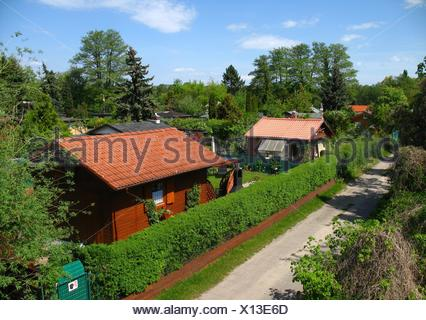 garden gardens arbor - Stock Photo