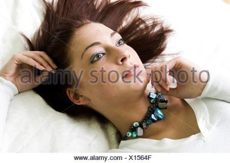Teenage fantasize - Stock Photo
