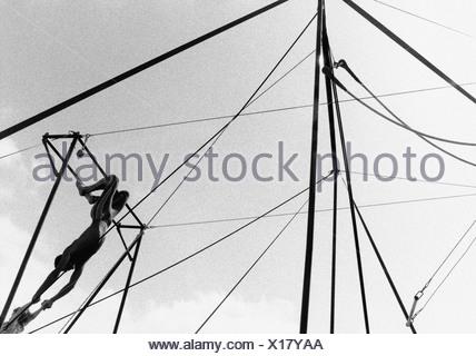 Trapeze - Stock Photo