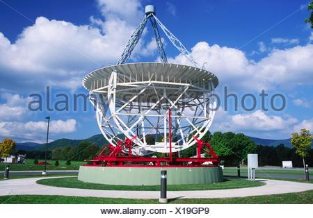 National Radio Astronomy Observatory, Green Bank, West Virginia. - Stock Photo