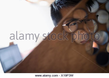 Close Up Of Laser Cutting Stock Photo 96839881 Alamy