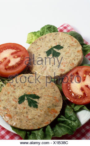 Vegetarian burgers - Stock Photo