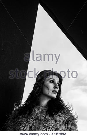 Portrait of a mid adult woman - Stock Photo