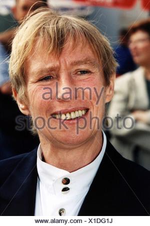 Hildebrandt, Regine, 26.4.1941 - 26.11.2001, German politician (SPD), labour minister (1990), portrait, 1999, Additional-Rights-Clearances-NA - Stock Photo