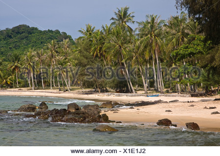 Mango Bay Beach, Phu Quoc Island, Vietnam, Asia - Stock Photo