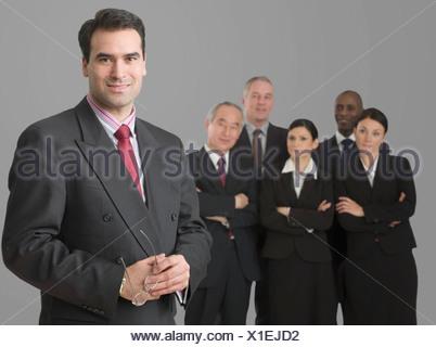 Portrait of a Caucasian businessman - Stock Photo