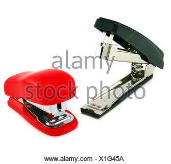 Two staplers - Stock Photo