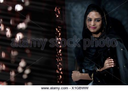 Portrait of a Muslim woman - Stock Photo