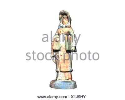porcelain figure released - Stock Photo
