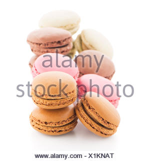 Colorful French Macarons - Stock Photo